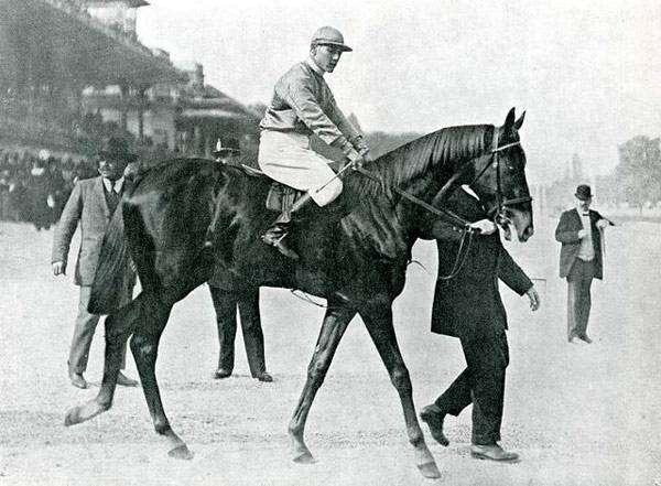 Big Racket в Мехико, 5 февраля 1945 г., фото рекорды лошадей коней фотография картинка