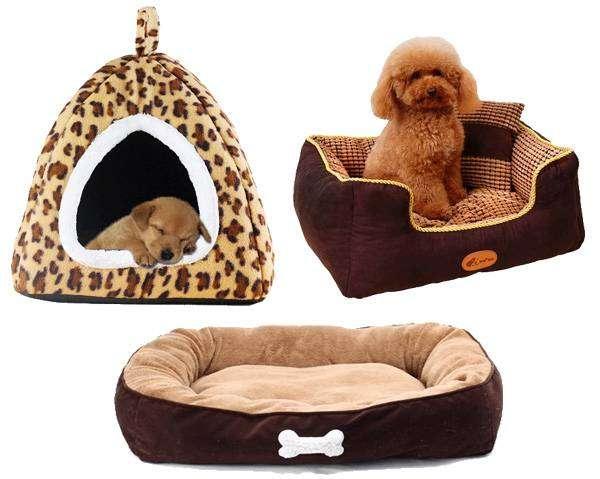 Домики и лежанки для собак, фото товары для животных фотография