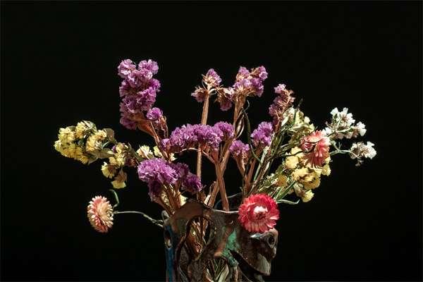 Засохший букет, сухие цветы, фото фотография картинка