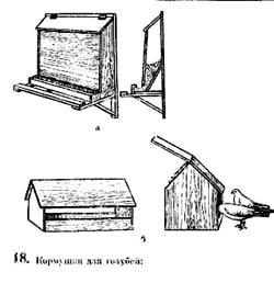 Оборудование для голубятни
