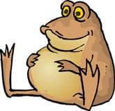жаба, клипарт