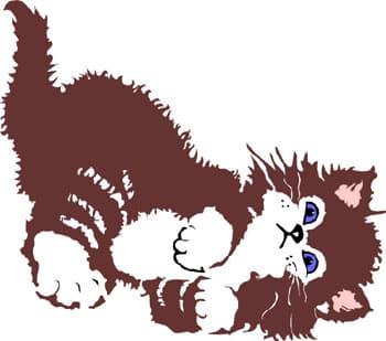 кошка, клипарт