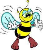 пчела, клипарт