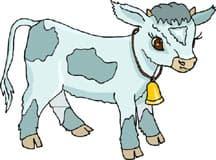 теленок, клипарт