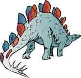 туоцзианозавр, динозавр, клипарт