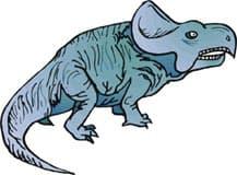 протоцератопс, динозавр, клипарт