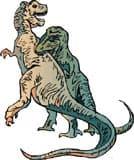 динозавр, клипарт