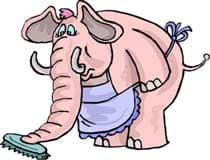 слон, клипарт