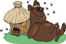 медведь, клипарт