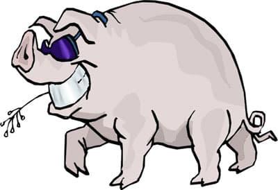 Свинья клипарт