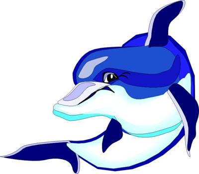 Дельфин бутылконосый клипарт, клипарты морские животные ...: http://www.zooclub.ru/fotogal/clip/sea/28a.shtml