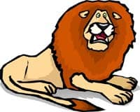 лев, клипарт