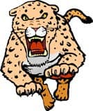 леопард, клипарт