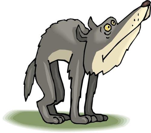 волк клипарт: