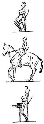 рис.7 Напряжение мышц пояснично-крестцового отдела при сборе, рисунок картинка изображение