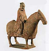 рис 4. китайская скульптура всадник на лошади, фото фотография, лошади кони