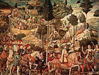 рис 5. картина Гоззолиго 'Проводник', фото фотография, лошади кони