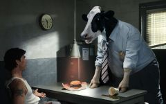 Корова - начальник обои
