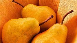 Желтые груши фотография