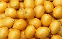 Спелые лимоны обои