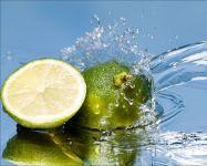 Зеленый лимон лайм