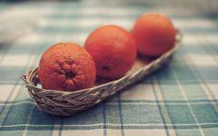 Три апельсина,  фотография  обои фото