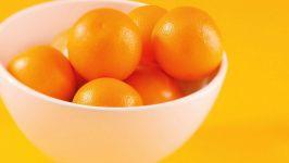 Апельсины в тарелке фото