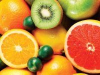 Грейпфрут, лимон и киви фото