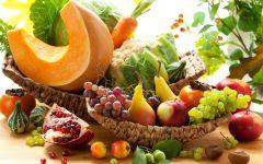 Овощной и фруктовый микс фото